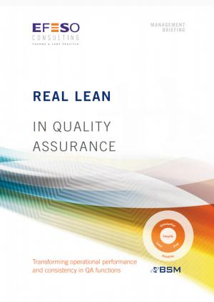 Real Lean Quality Assurance