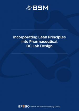 Incorporating Lean Principles into Pharmaceutical QC Lab Design - White Paper