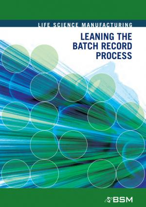Leaning the Batch Record Process